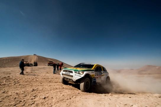 Equipe Mitsubishi Petrobras completou a nona etapa do Rally Dakar - Victor Eleuterio / Mitsubishi