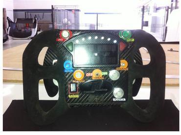Borboletas do câmbio automático são de fácil acesso e aumentam a segurança. - Divulgação Magneti Marelli