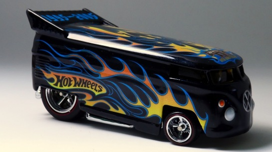 E a rara Hot Wheels Drag Bus Treasure Hunt 13.
