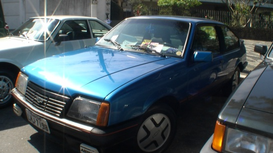 Monza S/R um clássico do final dos anos 80