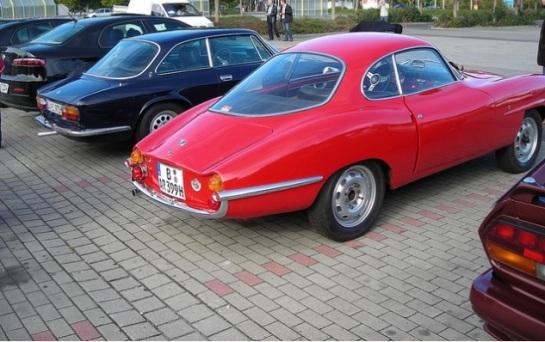 Alfa Romeo 2000 GTV Bertone + Giulietta