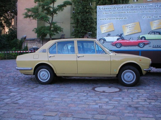 Alfa Romeo Alfetta (serie 1) Tipo 116