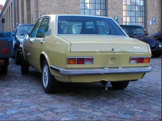 Alfa Romeo Alfetta (serie 1) Typ 116