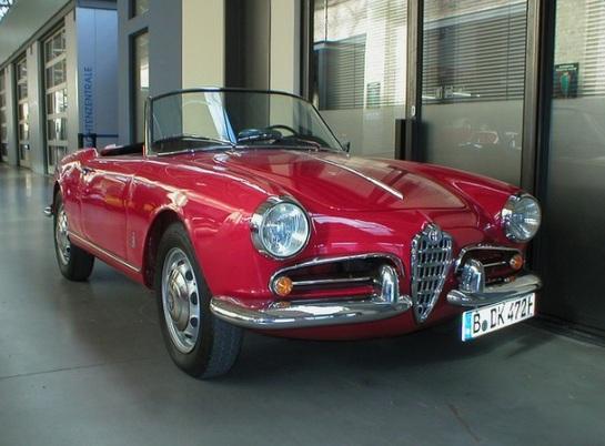 Alfa Romeo Giulietta Spider (tipo 750)