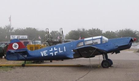 Messerschmitt_Bf-108_Taifun,_Midland,_Texas